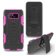 China IVYMAX robot holster case silicone mobile phone