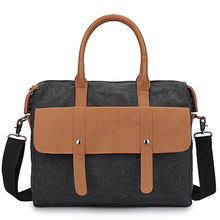 China Canvas laptop carry bag
