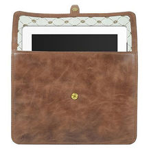 China Genuine leather tablet case