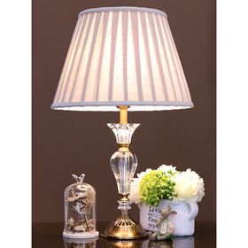 Crystal Classic American European Decorative Residential Table Lamp from Honest Lighting Tech Company Limited