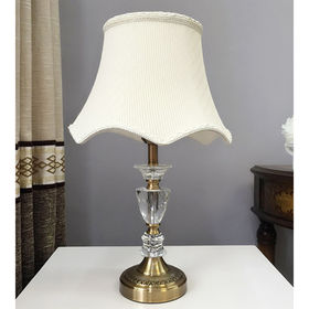 Classic European American modern simple style crystal decorative table lamp from Honest Lighting Tech Company Limited