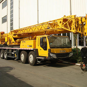 Heavy lifting crane truck with 70 tons lifting capacity QY70K-I