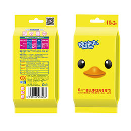 China Soft skin care baby face wet wipes
