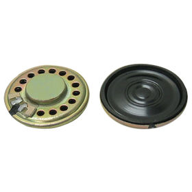 28mm Neodymium Mylar Speaker with 8 Ω Impedance from Wealthland (Audio) Limited