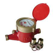 Vane Wheel Multiple Jet Dry Dial Magnetic Type Hot Water Meter from Shanxi Solid Industrial Co.,Ltd.