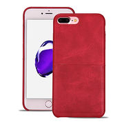 China Huanmin PU Back Cover Case for iPhone 7 Plus/iPhone 7