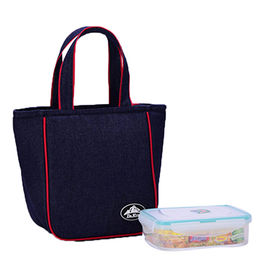 Lunch Cooler Bag with Meal Box Thermal insulated Tote Bags from Xiamen Dakun Import & Export Co. Ltd