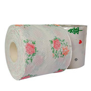 China Printed toilet paper