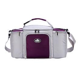 Travel shoulder insulated fashion meal prep bag in cooler bags DK7-9037 from Xiamen Dakun Import & Export Co. Ltd