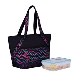 Small lunch tote cooler bag for food DK7-9015 from Xiamen Dakun Import & Export Co. Ltd