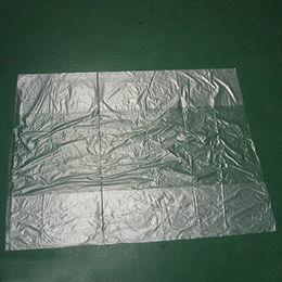 China Custom HDPE Flat 50 Microns Plastic Bags
