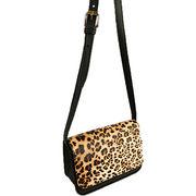 China Leopard print PU shoulder bag