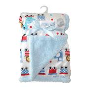 Printed 2-ply babies' blanket