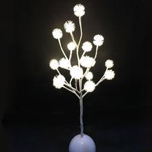 China Battery powered small LED tree
