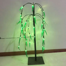 China Pre-lit weeping willow tree 4ft tree lights
