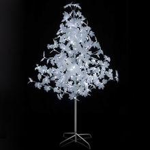 China H6ft White LED Maple Tree