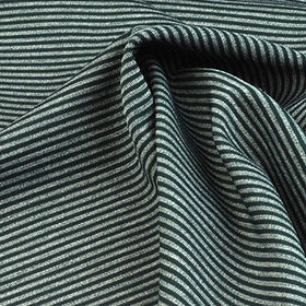 Polyester Fabric in Piece Dye Heather Stripe Interlock from Lee Yaw Textile Co Ltd