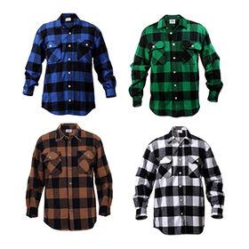 China Men's Checked Shirts