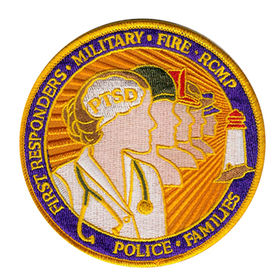 Uniform Embroidered Patch in 4