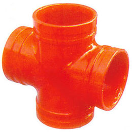 China Grooved Fitting Reducing Cross