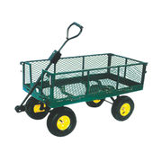 China Network Garden Cart with PB-free and UV-resistant Powder Coated