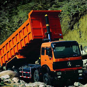 Mining dump trucks 6X4 in Algeria