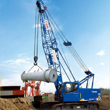 55T crawler cranes QUY55 hydraulic crane