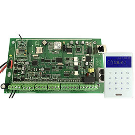 New Model TCP/IP GSM PSTN Triple Network Metal Box Alarm with 4 Partitions