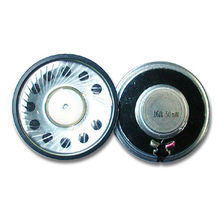 China Mylar Speakers, Suitable for Multimedia Applications, RoHS Directive-compliant Certified