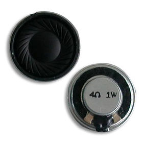 China Mylar Speakers with 410Hz to 20kHz Frequency Range and 4 ohms Impedance