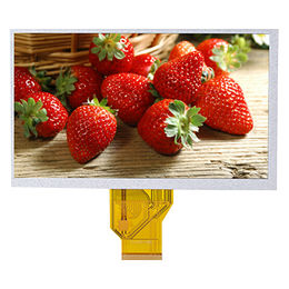 7-inch TFT LCD module, 800x480 resolution with 3.5mm thickness 40 pins
