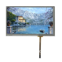 7-inch TFT LCD module, 800x480 resolution 50pins with RTP