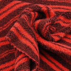 Polar Fleece Fabric in Polymicro Piece Dye Stripe from Lee Yaw Textile Co Ltd