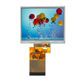 3.5-inch TFT LCD module with MCU/RGB interface 240x320 resolution