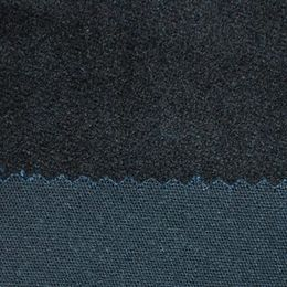 China Customized Navy Blue 351g Satin Catch Hair Fabric