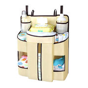 China Diapers Organizer Baby Bed Hanging Bag Portable Storage