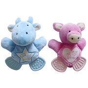 Short plush toys for pet teether from Anhui Light Industries International Co. Ltd
