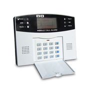GSM Alarm Intruder System with Intercom, Remote Control and Dialing Functions