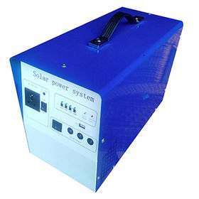 China 300w home solar power system for DC light, DC fans, cell phone charge, small AC/LCD/TV