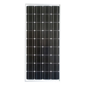 China High efficiency solar panel, 21.60V open circuit voltage