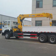 Mini Truck Mounted Crane SQ6.3SK3Q Telescopic Boom