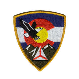 Taiwan Work Uniform Embroidered Patch
