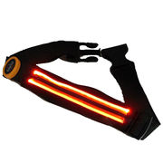 China LED Runner Waist Pouch Bag, Flashing, High-visibility for Road Safety/Cycling/Night Running/Walking