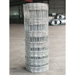 Galvanized knotted wire mesh fences, grassland fence field wire mesh/cattle fence