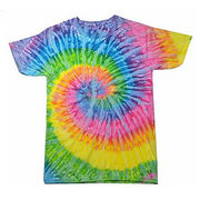 China Color Tone Youth and Adult Tie Dye T-shirt