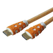 HDMI Cable, 19-pin Male to Male, Full Metal Zinc Shell, RoHS- and UL-marked from Dongguan HYX Industrial Co. Ltd