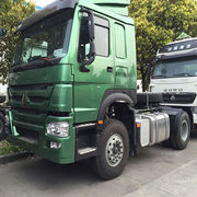 China Sinotruk howo A7 10 wheel 420 hp tractor truck for sale