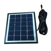 2W 6V Solar phone charger, USB connector