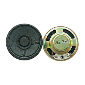 China Micro Speakers with Power Rating of 2W and 8 Ohms Impedance