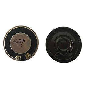 Small speaker in 28mm diameter with high power from Xiamen Honch Industrial Suppliers Co. Ltd